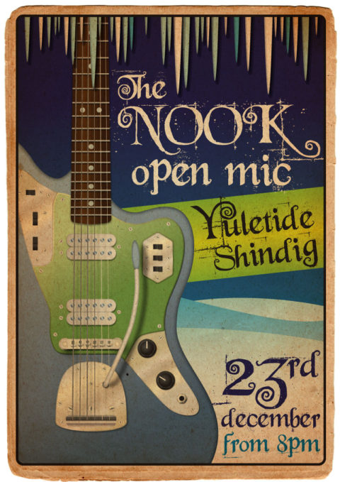 A3 Poster - The Nook Open Mic Christmas Special